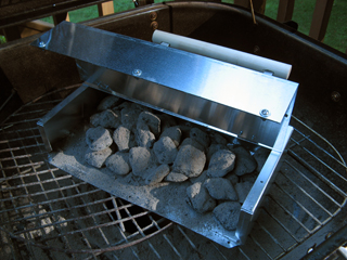 I barbeque exclusively with charcoal. I used to have...