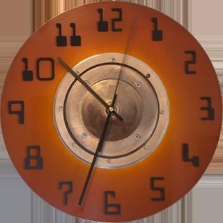 Clock with Hub
